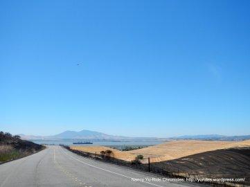view of Diablo & Suisun Bay