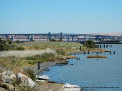 view of Benicia-Martinez bridge