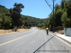 on Franklin Canyon Rd