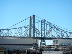 close-up Carquinez Bridge