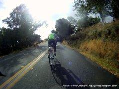 short climb on N San Pedro Rd