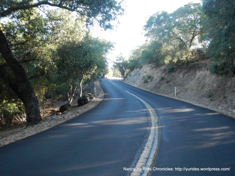 repaved road