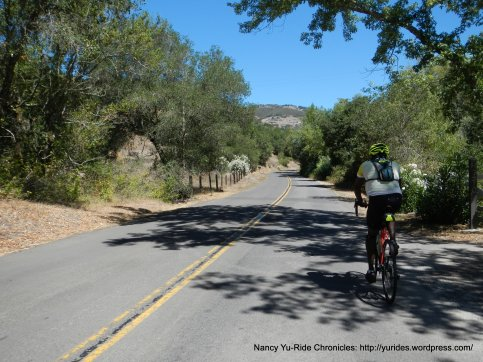 to upper Soda Canyon