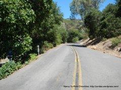 begin steep mile climb