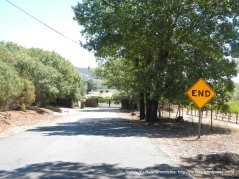 dead end road-Soda Canyon