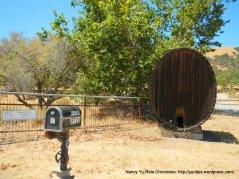 huge wine barrel