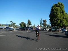 to Park N Ride lot-Napa