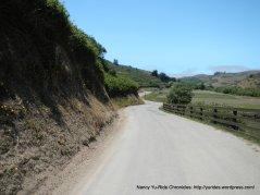 turn-around-Pomponio Creek Rd