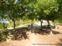 water stop at Las Juntas Park