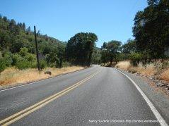 climb up Siegler Canyon Rd