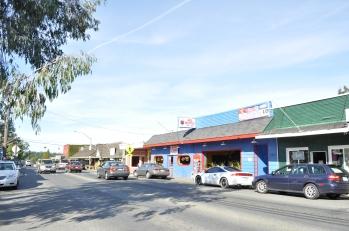 Vashon downtown area