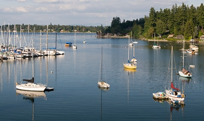 Quartermaster Harbor marina