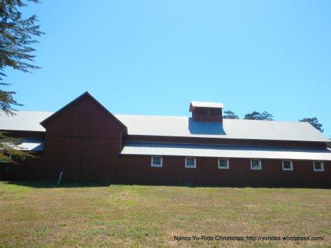 red barn-Bear Valley Visitor Center