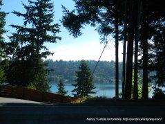 glimpse of Lake Sammamish