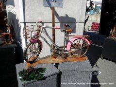 metal bike art