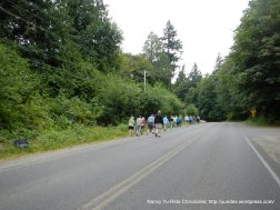 walking group-Eagle Harbor Dr