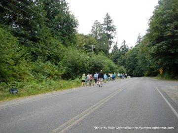 walking group-Eagle Harbor Dr