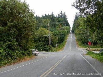 rolling climbs-NE Baker Hill Rd