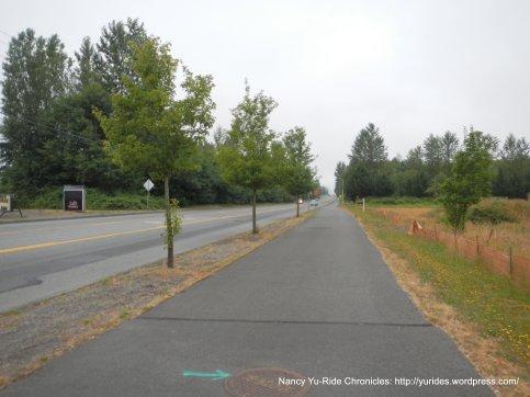 Centennial Trail into Arlington