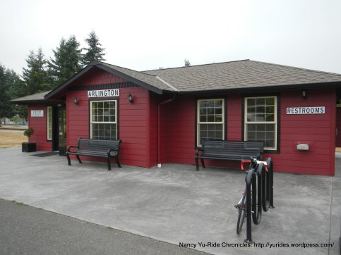 Arlington Visitor Center & restrooms
