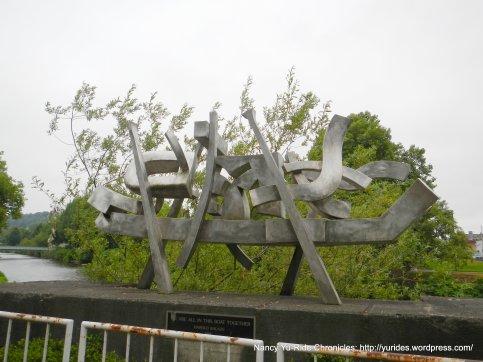 riverside sculpture