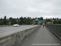 I-90 brdige crossing to Seattle