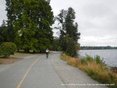 on Green Lake Trail