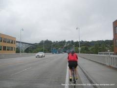 Fremont Bridge crossing