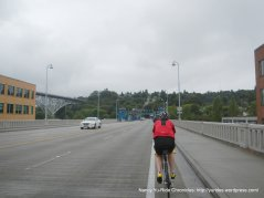 Fremont Bridge crossing