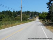 rolling climbs on North Bluff Rd