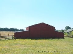red barn on Morris Rd