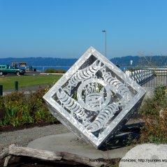back at Mukilteo Lighthouse Park-outdoor art