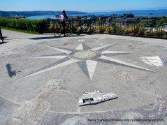 Compass Rose-mosaic public art