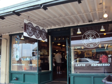 The very first Starbuck's