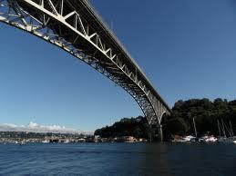 view of Aurora Bridge