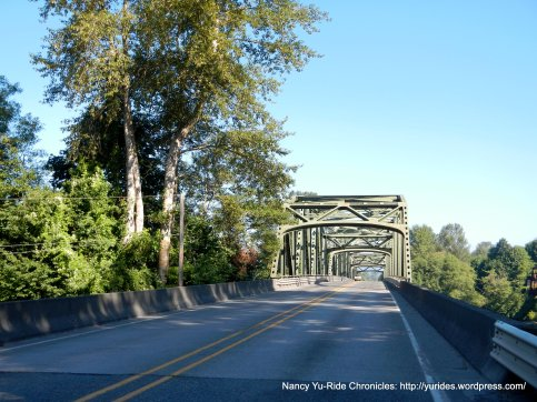 Skagit River crossing to Sedro-Woolley