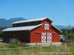 beautiful red barn