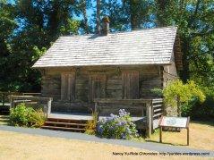 cabin at interpretive center