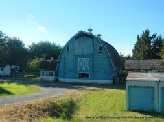 beaituful shaped barn