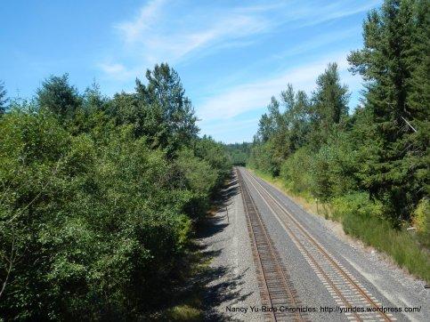 Burkington Northern Santa Fe RR tracks