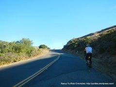 steep climb up Wilson Hill