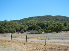 open ranch home on CA-121