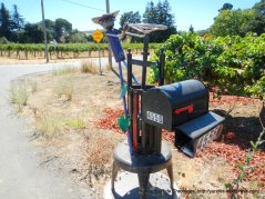 grape press post box