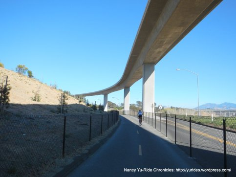 Benicia-Martinez bike/ped path to Martinez