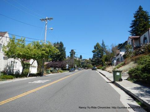 climb up Spruce St