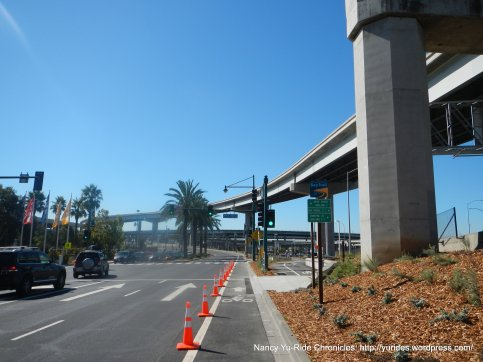 Shellmound Ave to Bike path-across from Ikea