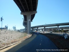 under I-80 ramp