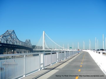the old with the new eastern span