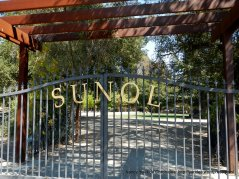 entrance to Sunol Park