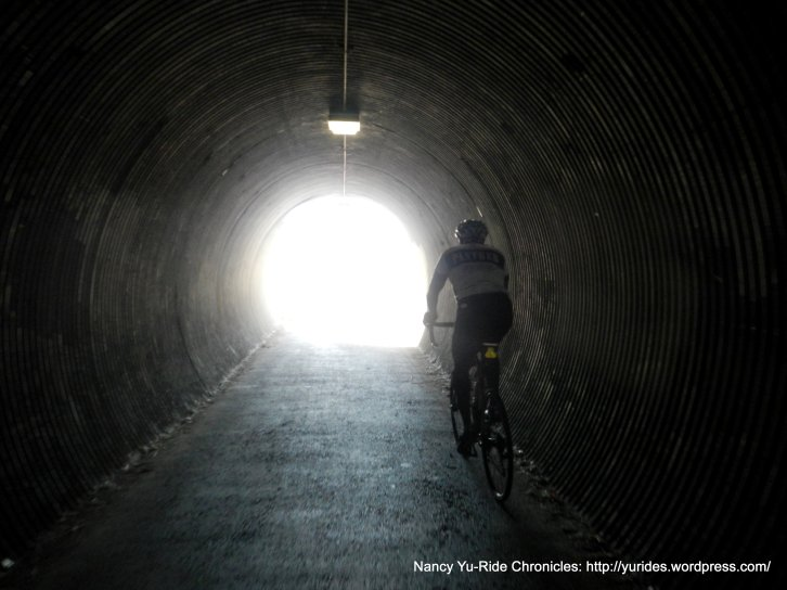 Contra Costa Canal Trail tunnel